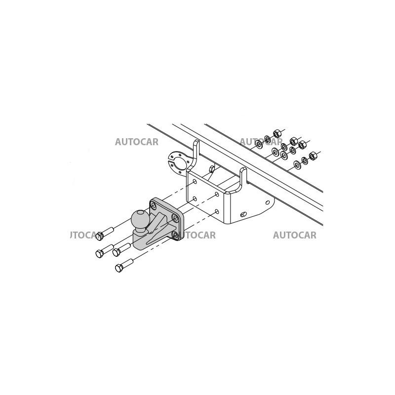 Ťažné zariadenie pre Renault Alaskan