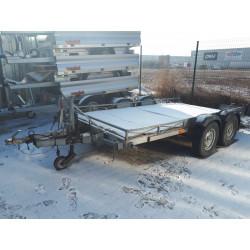 Prívesný vozík na prevoz malých mechanizmov