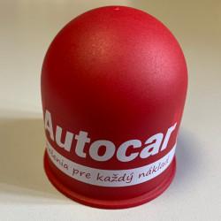 Krytka na guľu plastová - červená