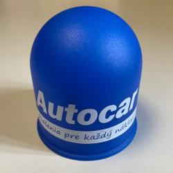 Krytka na guľu plastová - modrá