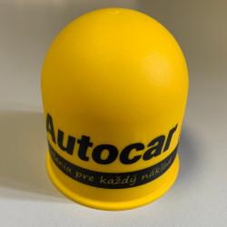 Krytka na guľu plastová - žltá