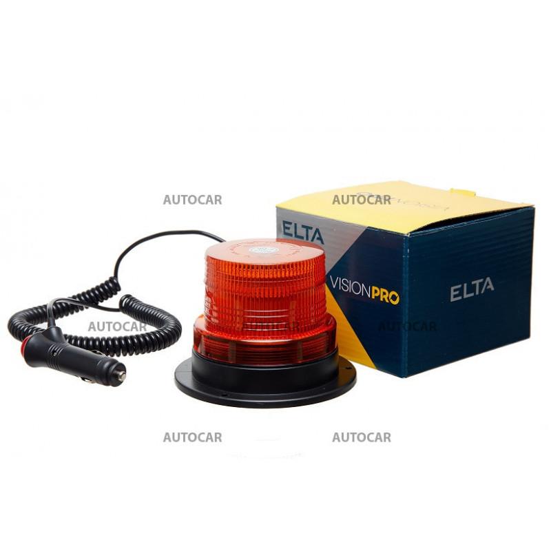 Maják 40SMD,ECE R10+R65, 12/24V, magnetické uchyt.,Vision PRO