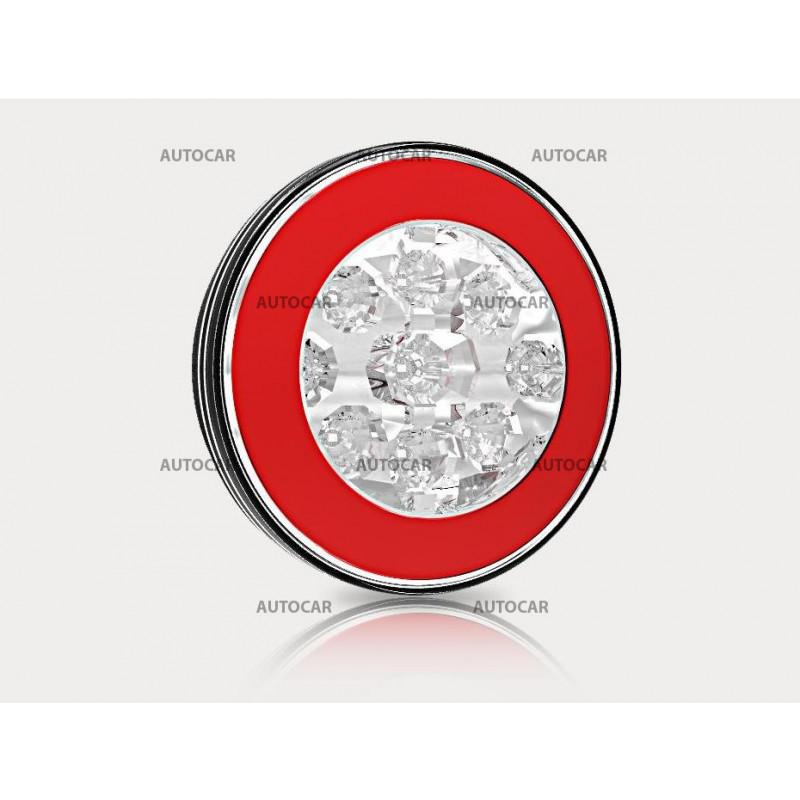Okrúhle LED svetlo - 2 funkčné