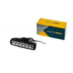 Pracovné svetlo Vision PRO 6LED * 3W/18W pevné uchyt.,10-30V, ECE R10
