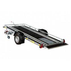 Prívesný vozík PSS na prepravu snežných skútrov