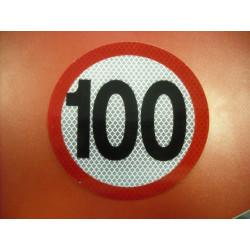 Rýchlostná nálepka 100 km/hod
