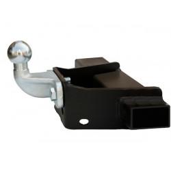 Ťažné zariadenie pre CRAFTER - 3,55/4,025 dlhy, bez schoda, po jednom kolese vzadu - pevný systém - od 2006/04 do