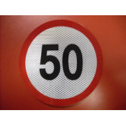 Rýchlostná nálepka 50 km/hod