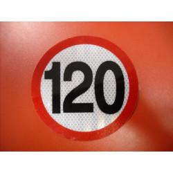 Rýchlostná nálepka 120 km/hod
