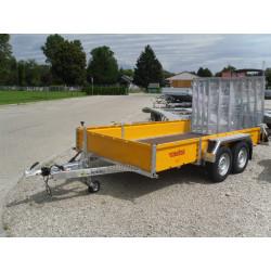 Prívesný vozík BAT D35.36 na prepravu stavebných strojov