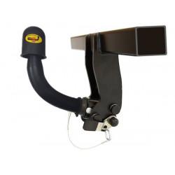 Ťažné zariadenie pre PICK UP-DOUBLE CUP,NP300 - (240/270) 4x4, rúrkový nárazník - automatický systém - od 2002,2007 do