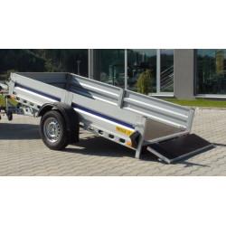 Prívesný vozík Silesia-sklopný