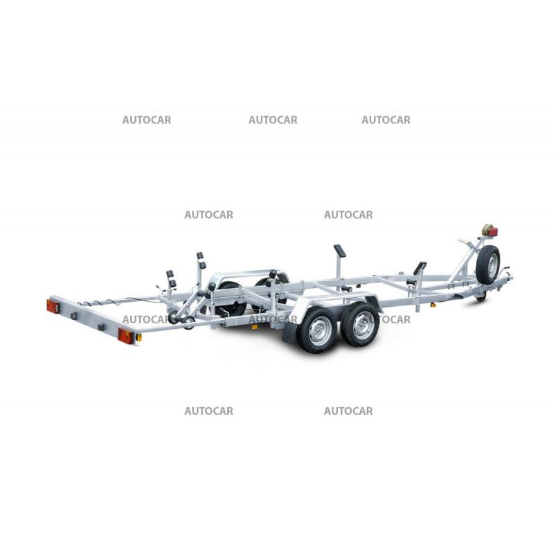 Prívesný vozík P2015HT na prepravu lodí - brzdený