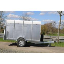 Prívesný vozík PLUTO 1 na prepravu zvierat